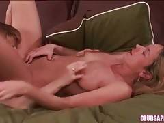 Sexy Milf And Sweet Girl Fall In Passion 3