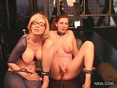 Nina Hartley Is Spanking Eager Nica Noelle 3