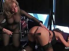 Nina Attacks Deauxma With Various Sex Toys 3