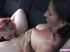Melissa Monet enjoys the taste of Lexi Belle`s fresh sweet pussy.
