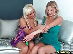 Holly Brooks And Brianna Ray Try Lotions 2