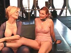 Nina Hartley Gladly Welcomes Nica Noelle 1