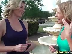 Sexy Brianna Ray is glad to meet hot looking Cory Chase.