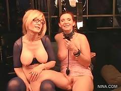 Sexy Mature Ladies Have A Great Time Together 1