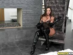 Abigail toung fucked her partners pussy until it was so moist it was running down her legs. They took turns pleasing each other until there was no more cum to give.
