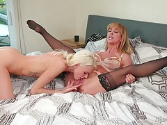 All she wants is her undivided attention, even if it`s just for an hour. Cherie promises Emma that she`s all hers for the rest of the day. When Cherie asks her what she wants to do, Emma puts her hand on Cherie`s leg and starts caressing it. Not getting t